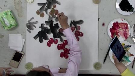 徐湛教授教你荔枝的画法 课程值得反复学习