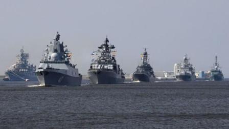 俄罗斯展开强力反击,大批舰机集结演习,警告美军不许插手