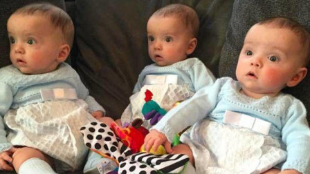 当年女子坚持生下三胞胎,如今宝宝拥有高颜值,妈妈却十分苦恼