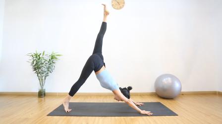 翘臀不粗腿!只需1个瑜伽垫,4招练出蜜桃臀,告别萝卜腿