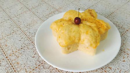 孩子想吃面包,芹姐做了酸奶松软大面包,浓浓奶香超好吃