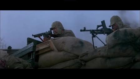解放军战士声震天、勇往无前,蒋军的城池在炮火轰鸣中瞬间崩塌