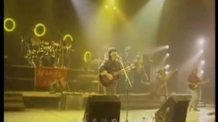 中国摇滚乐的巅峰,崔健《花房姑娘》,1992北展演唱会现场版