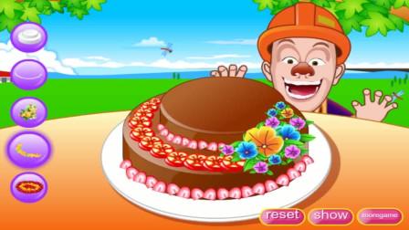 熊出没系列小游戏:熊出没之光头强的生日蛋糕
