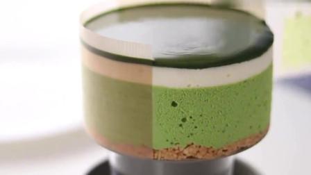 抹茶芝士蛋糕,给春天加点绿,抹茶控看过来~
