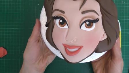 """贝尔公主的""""自拍""""还能做成美味的蛋糕?据说她是迪士尼最美公主"""