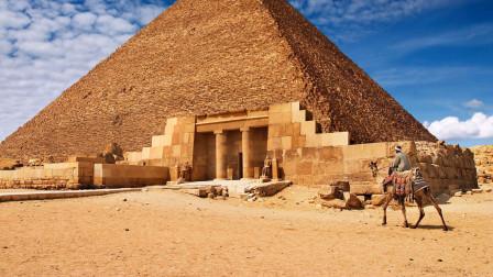 古人奇思妙想,金字塔内部建墓室,神奇工艺保证墓室不塌