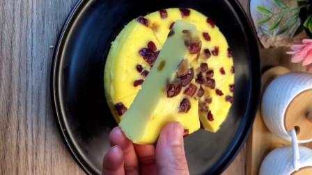 酸奶蛋糕的家常做法,口感细腻,香甜美味,不用烤箱,简单易学