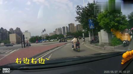 女子开车追尾惊慌尖叫将对方撞出19米 丈夫崩溃大喊:踩刹车