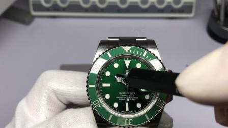 (功能讲解)A+R海鸥2824机芯版绿水鬼实用功能介绍