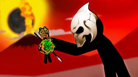 火柴人战争:挑战困难模式锦标赛,一直压制着对手最终获得第一名