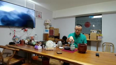 27日常简单干泡茶演示,太极茶道馆分享