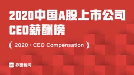 2020中国A股上市公司CEO薪酬榜,华夏幸福吴向东3869万元登榜首,广东成百万年薪CEO盛产地