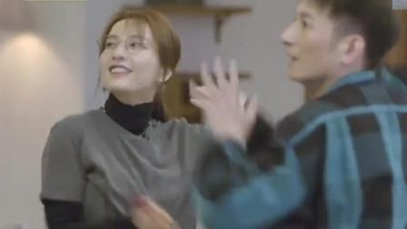 朋友请听好:维嘉吴昕跳舞机玩嗨了,海涛拍视频发朋友圈