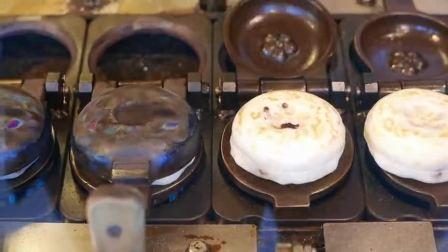"""日本街头""""红豆饼""""大体验,制作的方法太特殊!"""