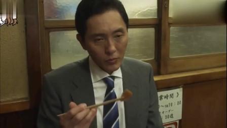 孤独的美食家:五郎叔点的这份鳗鱼蛋包饭,深夜不要看,会饿啊!
