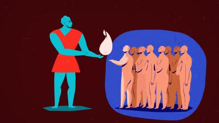 希腊神话《普罗米修斯》天神为凡人盗取火种,结果差点献出生命!