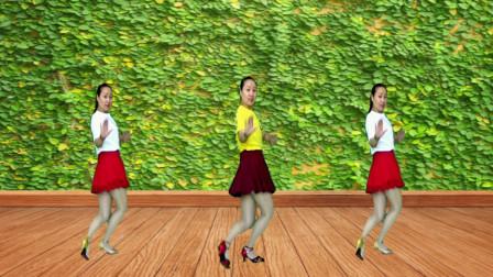 时尚健身16步《火辣辣的山里红》动感欢快的旋律 舞蹈青春活力