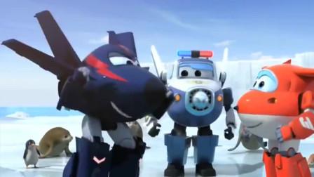 超级飞侠:乐迪被困冰洞太久