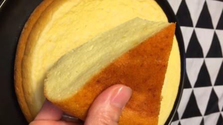 电饭煲蒸蛋糕的做法,简单易学,蓬松暄软,学会不用再买了