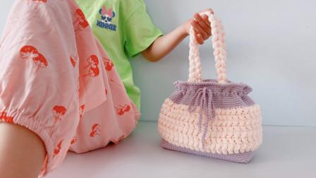 麦穗手提包!包底四平八稳,包身圆润可爱,大容量超实用!