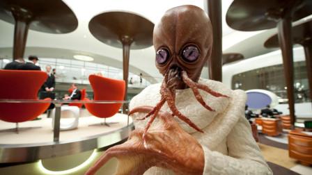 大量外星怪兽来到地球成为难民,各种族的怪物化妆成人类,还变成美女和人类结婚,速看《黑衣人3》