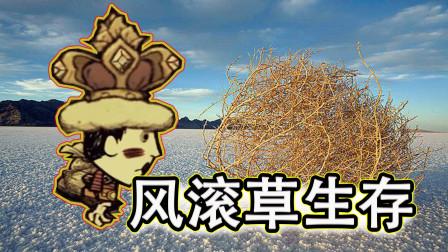 小渔饥荒系列:如果饥荒没有了作物!只靠风滚草能生存吗?