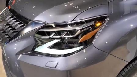 2020款雷克萨斯GX460, 打开后备箱和车门