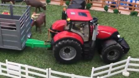看拖拉机给开心农场送去那些有趣的动物吧.mp4