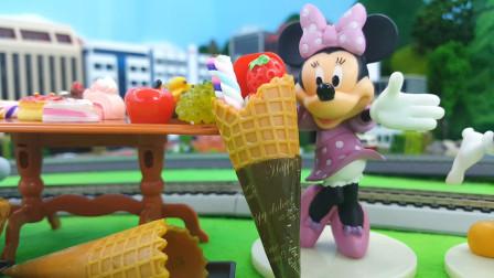 哆啦A梦的冰淇淋甜品店