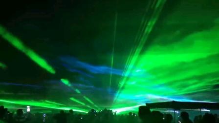户外激光特效 北极之光 激光秀定制