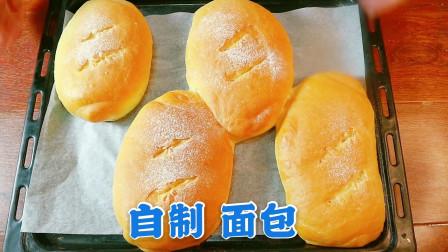 在家做面包,揉手套膜太费劲?厨师教你一招,2分钟快速出膜
