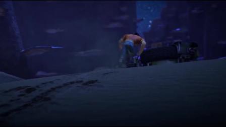 星际大逃亡:真是有惊无险,龙克终于找到蓝蛟了