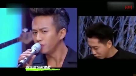 邓超模仿庾澄庆唱歌,本尊直接坐不住了,直接上台PK