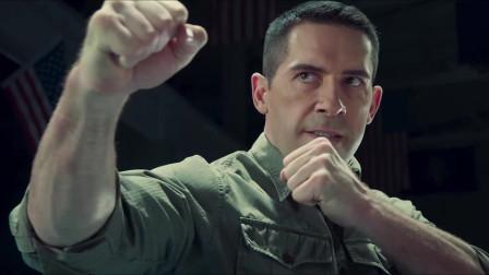 《叶问4》太极拳传人对战陆战队军官精彩片段,打斗画面让人震撼!
