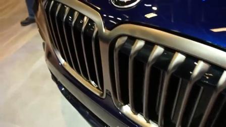 重磅新车, 2020款宝马X7M50i版, 外观内饰全展示