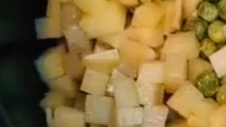 腊肠饭的做法——电饭煲
