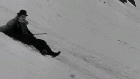 淘金记:卓别林的电影真的太好笑了哈哈哈