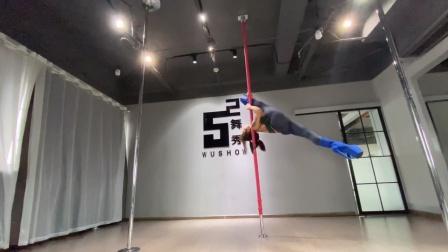 钢管舞技巧串联