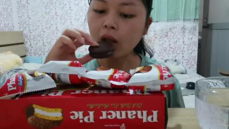 吃播:巧克力派
