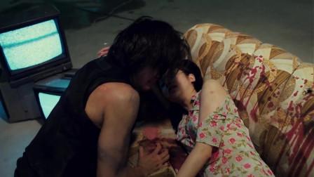 古惑仔:陈浩南亲眼看着爱人小结巴被乌鸦,场面既气氛又悲伤,请备好纸巾观看