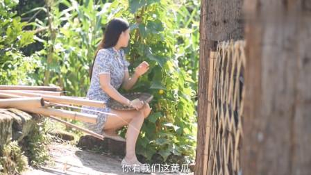 农村美女烹饪美食,小妹今天做了道四川名菜蒜泥白肉,口感肥而不腻