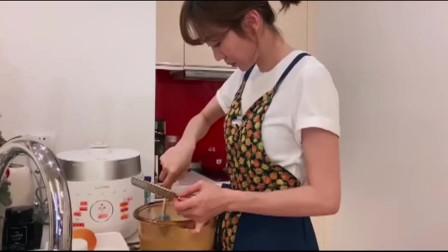 姜妍教你用电饭煲做橙子蛋糕,不但好看还好吃,一起学起来吧
