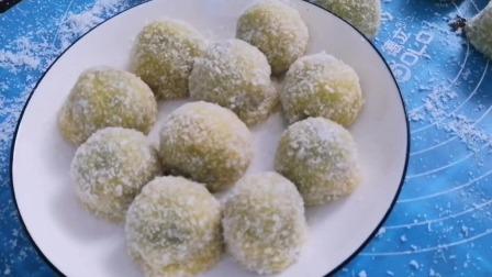 豆沙糯米糍做法简单,大人小孩都爱吃的一款甜点,软糯香甜。