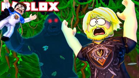 Roblox丛林故事模拟器 被大猩猩追赶