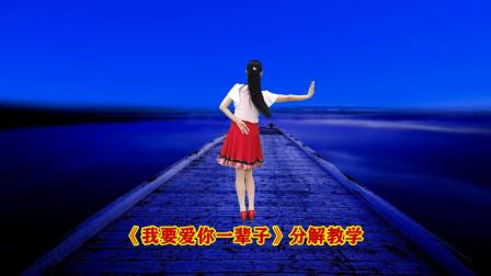 情歌广场舞《我要爱你一辈子》详细动作分解教程