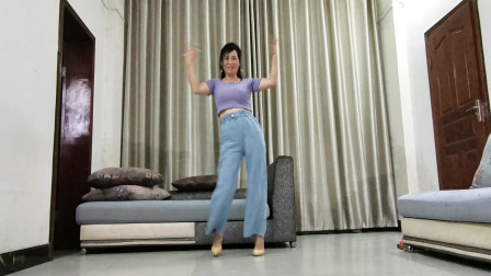 很火的一支舞《别知己》 跳起来愉快