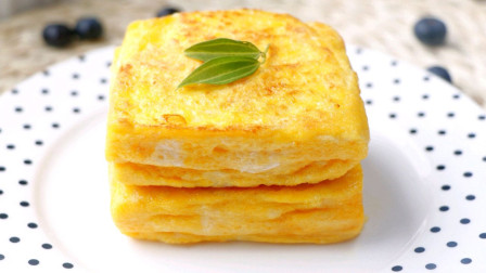 夏日必备早餐 比蛋糕还好吃百倍  芒果酸奶吐司