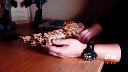 讲堂军库-雷明顿M870木质拼装模型,疫情期间在家消磨时光的首选