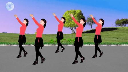 益馨广场舞 广场舞《红枣树》歌甜舞美32步,既健身又抒情
